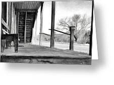 Black And White Or Shades Of Gray? Greeting Card