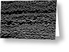 Black And White Rope Stack Greeting Card