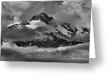 Black And White Tantalus Storms Greeting Card