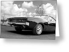 Black Beaut - Charger R/t Greeting Card