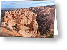 Black Birch Canyon Lookout Greeting Card