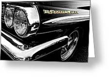 Black Bonneville Greeting Card