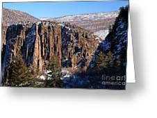 Black Canyon Butte Greeting Card