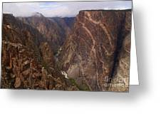 Black Canyon Of The Gunnison Greeting Card