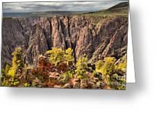 Black Canyon Spires Greeting Card