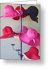 Black Chapeau Of The Family Greeting Card
