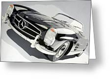 Mercedes 300 Sl Greeting Card
