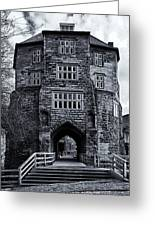 Black Gate Greeting Card