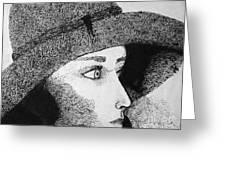Black Hat Greeting Card