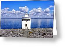 Black Head Lighthouse Greeting Card