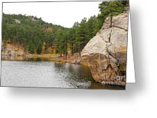 Black Hills Lake Greeting Card