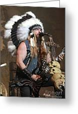 Black Label Society - Zak Wylde Greeting Card