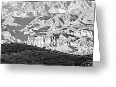 Black Mountains Of Arizona Greeting Card