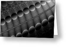 Black Pearls Greeting Card