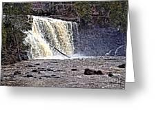 Black River Falls Greeting Card