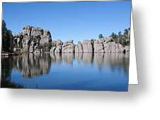 Black  Rock North Dakota Greeting Card by Robert  Torkomian