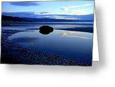Black Rock Greeting Card