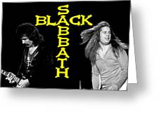 Black Sabbath 1978 Greeting Card