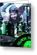 Black Sabbath - Tommy Clufetos Greeting Card
