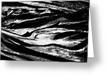 Black Sand  Greeting Card