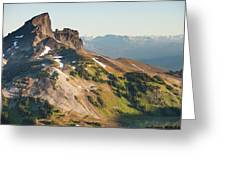 Black Tusk Mountain And Helm Lake Greeting Card