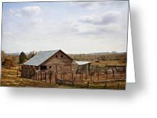 The Blackfoot Barn Greeting Card