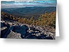 Blackrock Summit Toned Greeting Card
