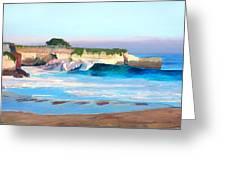 Blacks Beach - Santa Cruz Greeting Card