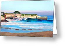 Blacks Beach - Santa Cruz Greeting Card