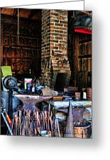 Blacksmith - All The Tools Greeting Card