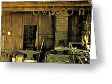 Blacksmith Anvil Greeting Card