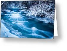 Blacksmith Fork Canyon Greeting Card