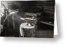 Blacksmith Shop Greeting Card