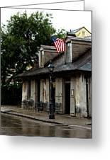 Blacksmith Shop On A Rainy Day Greeting Card
