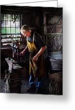 Blacksmith - Starting With A Bang  Greeting Card