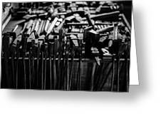 Blacksmith's Tools Greeting Card