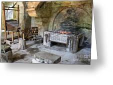 Blacksmiths Workshop Greeting Card