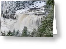 Blackwater Falls D300_13581 Greeting Card