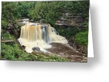 Blackwater River Falls West Virginia Greeting Card
