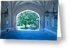 Blair Hall Arch Greeting Card