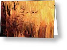 Blanchard Springs Caverns-arkansas Series 01 Greeting Card by David Allen Pierson