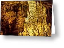 Blanchard Springs Caverns-arkansas Series 05 Greeting Card