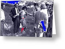 Blanche Barrow Captured July 24 1933 Dexfield Park Missouri  Greeting Card