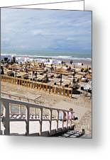 Blankenberge Beach Belgium Greeting Card