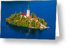 Bled 03 Greeting Card