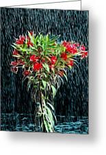 Blessed Rain Greeting Card