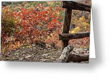 Blended Colors. Greeting Card