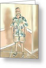 Blended Man Greeting Card