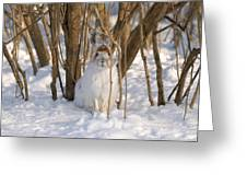 Blending In Greeting Card