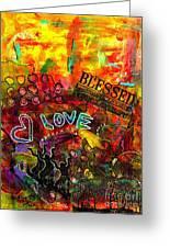 Blessed Beyond Measure Greeting Card